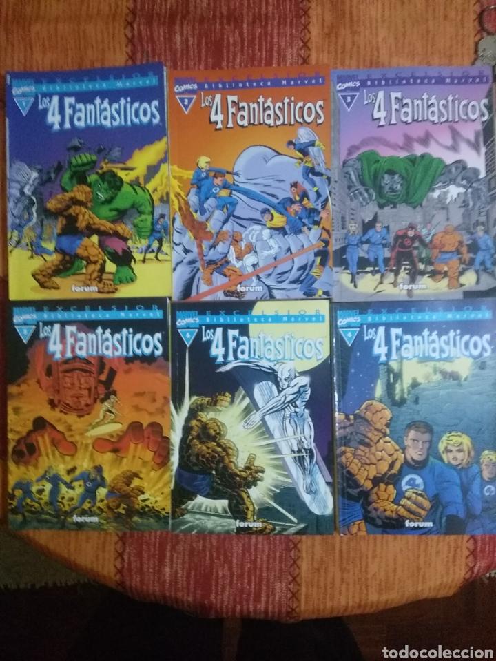 LOS CUATRO FANTÁSTICOS (Tebeos y Comics - Forum - 4 Fantásticos)