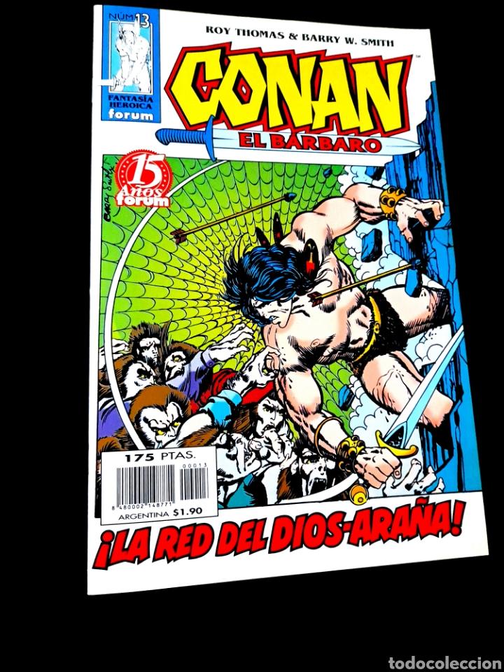 DE KIOSCO CONAN EL BARBARO 13 FANTASIA HEROICA COMICS FORUM MARVEL (Tebeos y Comics - Forum - Conan)
