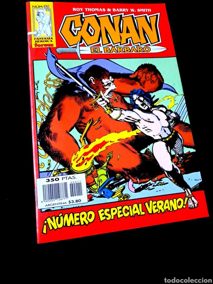 DE KIOSCO CONAN EL BARBARO 11 FANTASIA HEROICA COMICS FORUM MARVEL (Tebeos y Comics - Forum - Conan)