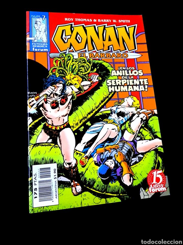 DE KIOSCO CONAN EL BARBARO 7 FANTASIA HEROICA COMICS FORUM MARVEL (Tebeos y Comics - Forum - Conan)