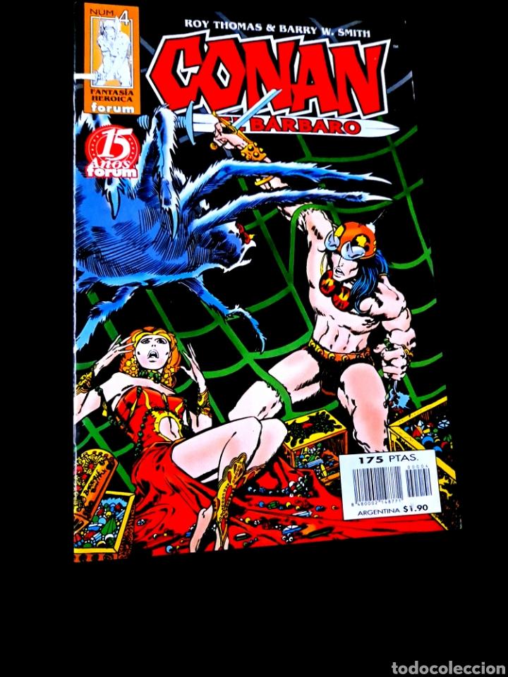 DE KIOSCO CONAN EL BARBARO 4 FANTASIA HEROICA COMICS FORUM MARVEL (Tebeos y Comics - Forum - Conan)