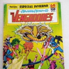Cómics: LOS VENGADORES ESPECIAL INVIERNO ATLANTIS ATACA. Lote 237152040