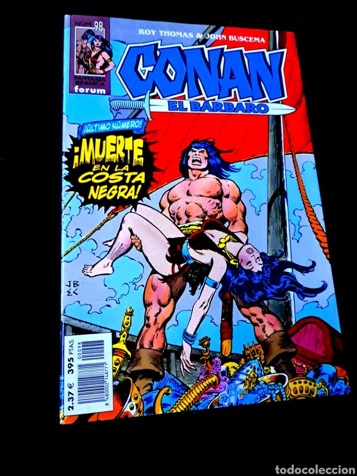 EXCELENTE ESTADO CONAN EL BARBARO 98 FANTASTICA HEROICA COMICS FORUM MARVEL (Tebeos y Comics - Forum - Conan)