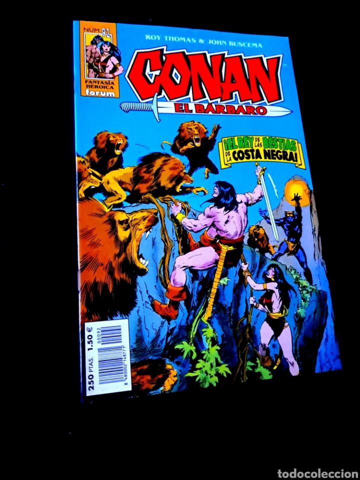 EXCELENTE ESTADO CONAN EL BARBARO 92 FANTASTICA HEROICA COMICS FORUM MARVEL (Tebeos y Comics - Forum - Conan)