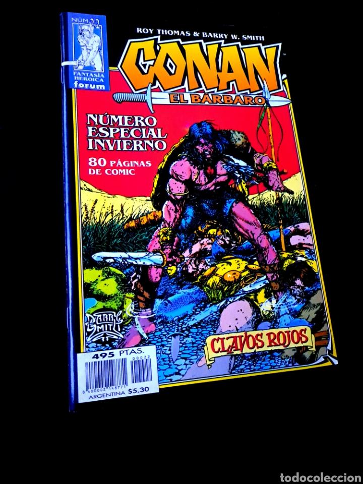 DE KIOSCO CONAN EL BARBARO 22 FANTASTICA HEROICA COMICS FORUM MARVEL (Tebeos y Comics - Forum - Conan)
