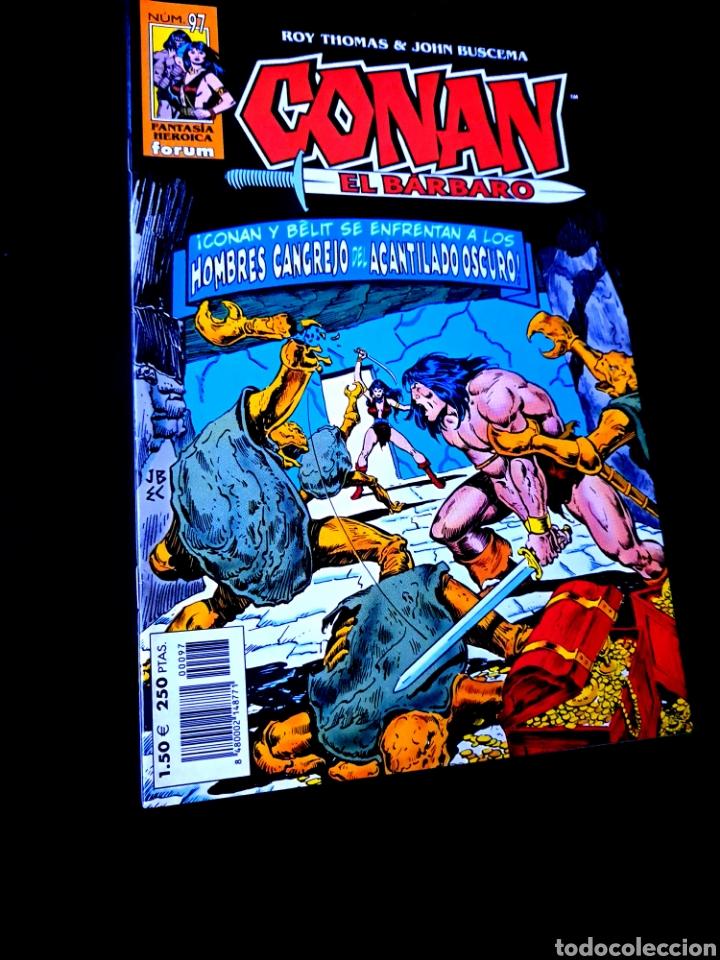 DE KIOSCO CONAN EL BARBARO 97 FANTASTICA HEROICA COMICS FORUM MARVEL (Tebeos y Comics - Forum - Conan)