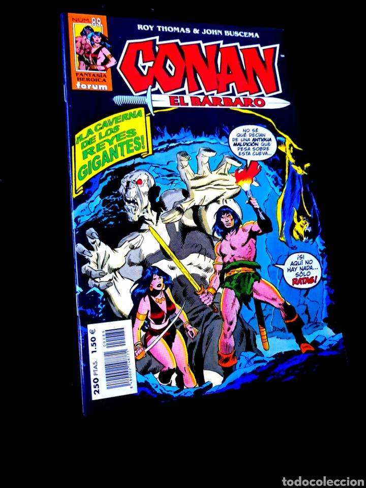 DE KIOSCO CONAN EL BARBARO 89 FANTASTICA HEROICA COMICS FORUM MARVEL (Tebeos y Comics - Forum - Conan)