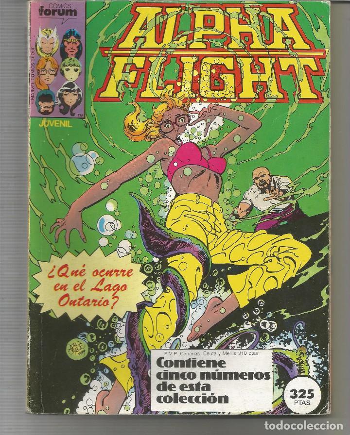 ALPHA FLIGHT RETAPADO NÚMEROS 11 A 15 PLANETA DEAGOSTINI FORUM (Tebeos y Comics - Forum - Retapados)