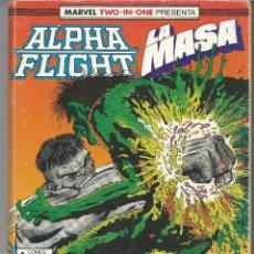 Cómics: ALPHA FLIGHT RETAPADO NÚMEROS 51 A 55 PLANETA DEAGOSTINI FORUM. Lote 237337195