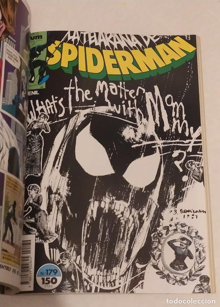 Cómics: RETAPADO SPIDERMAN Nº 176,177,178,179,180 - COMICS FORUM- MARVEL 1987 - Foto 3 - 237352420