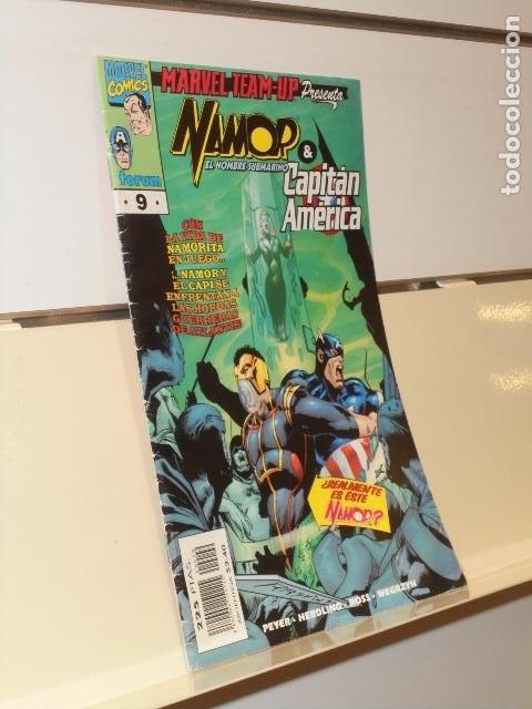 MARVEL TEAM UP Nº 9 NAMOR Y EL CAPITAN AMERICA - FORUM (Tebeos y Comics - Forum - Spiderman)