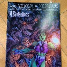 Cómics: LA COSA & HULKA: LA NOCHE MÁS LARGA - LOS 4 FANTÁSTICOS. Lote 237469265