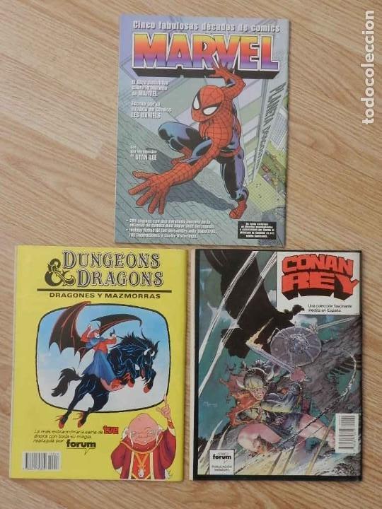 Cómics: Lote 3 La espada salvaje de CONAN Vol.I Volumen 1 Forum Serie Oro núm. 46, 48 y 49 - Foto 5 - 237473700