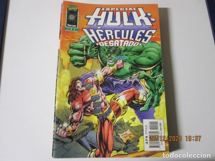 ESPECIAL HULK HERCULES DESATADO Nº 1 FORUMESPECIAL HULK HERCULES DESATADO Nº 1 FORUM (Tebeos y Comics - Forum - Hulk)
