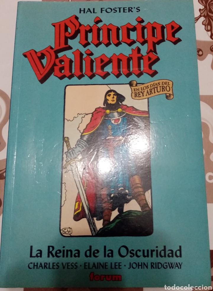 PRÍNCIPE VALIENTE: LA REINA DE LA OSCURIDAD: CHARLES VESS: FORUM (Tebeos y Comics - Forum - Prestiges y Tomos)
