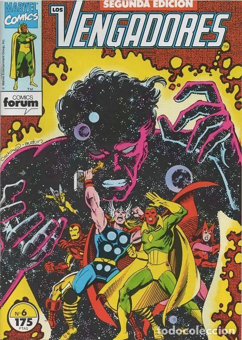 LOS VENGADORES N° 6 VOLÚMEN 1 SEGUNDA EDICIÓN FORUM (Tebeos y Comics - Forum - Vengadores)