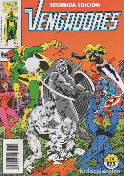 LOS VENGADORES N° 14 VOLÚMEN 1 SEGUNDA EDICIÓN FORUM (Tebeos y Comics - Forum - Vengadores)