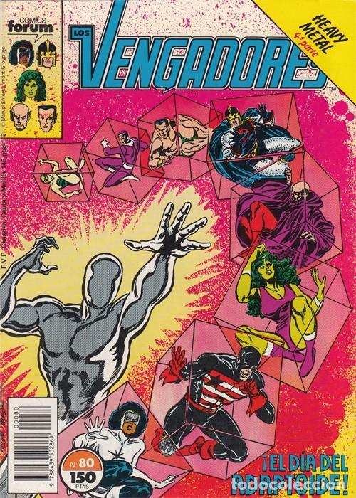 LOS VENGADORES N° 80 VOLÚMEN 1 FORUM (Tebeos y Comics - Forum - Vengadores)