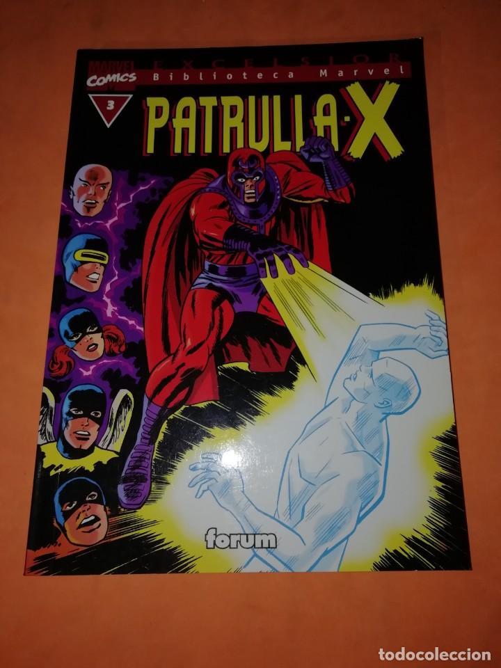 PATRULLA -X. BIBLIOTECA MARVEL. Nº 3 . FORUM (Tebeos y Comics - Forum - Patrulla X)