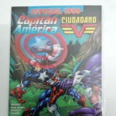 Cómics: CAPITAN AMERICA VS CIUDADANO V - ESPECIAL 1999 THUNDERBOLTS VENGADORES - MUY BUEN ESTADO. Lote 237932195