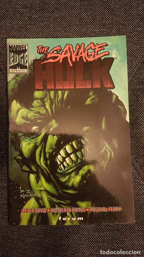 THE SAVAGE HULK - TOMO - FORUM (Tebeos y Comics - Forum - Hulk)