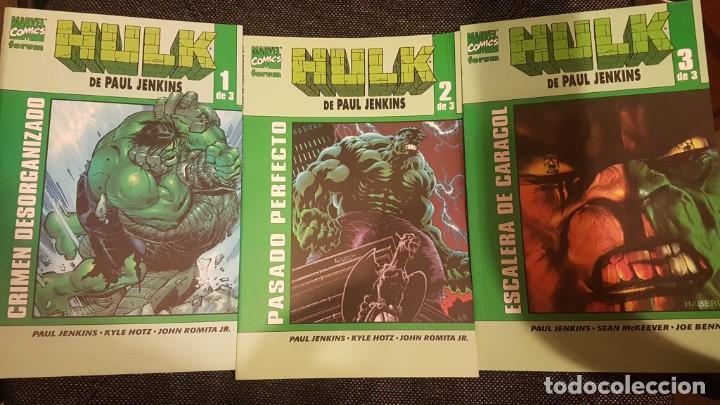 EL INCREIBLE HULK DE PAUL JENKINS (OBRA COMPLETA 3 TOMOS) - FORUM (Tebeos y Comics - Forum - Hulk)