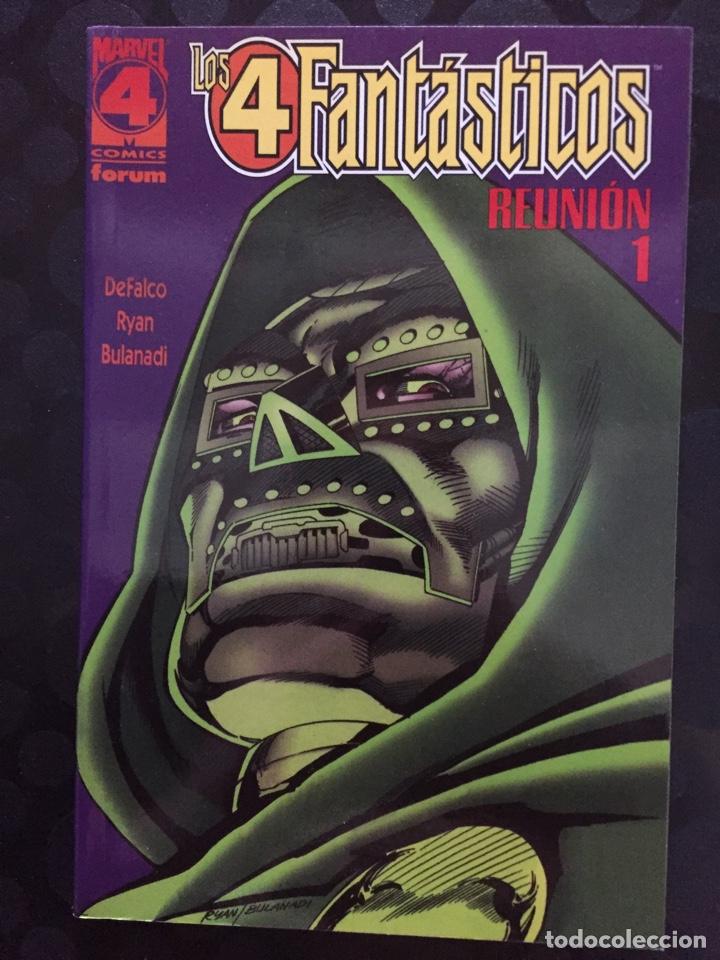 LOS 4 FANTÁSTICOS : REUNIÓN N.1 REVELACIONES ( 1997 ) (Tebeos y Comics - Forum - 4 Fantásticos)