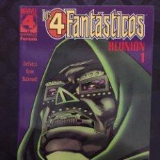 Comics : LOS 4 FANTÁSTICOS : REUNIÓN N.1 REVELACIONES ( 1997 ). Lote 238176305
