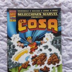 Cómics: SELECCIONES MARVEL PRESENTA:LA COSA , EL PROYECTO PEGASO. Lote 238200180