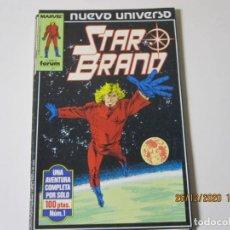 Cómics: NUEVO UNIVERSO. THE STAR BRAND. Nº 1 Y 2 FORUM. Lote 238336695