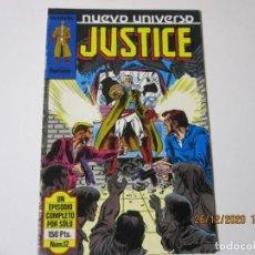 Cómics: NUEVO UNIVERSO JUSTICE Nº 12 FORUM. Lote 238337245