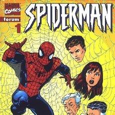 Cómics: SPIDERMAN VOL.3 Nº 1 - FORUM LOMO ROJO PERFECTO ESTADO. Lote 238476895