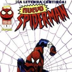 Cómics: NUEVO SPIDERMAN VOL.1 Nº 1 FORUM LOMO NEGRO PERFECTO ESTADO. Lote 238487985