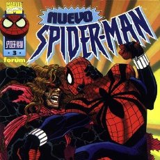 Cómics: NUEVO SPIDERMAN VOL.1 Nº 3 FORUM LOMO NEGRO PERFECTO ESTADO. Lote 238488120