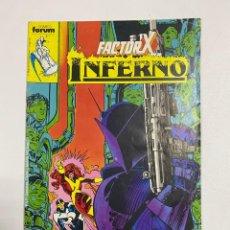Comics: INFERNO - FACTOR X. Nº 4 - LA LUCHA ENTRE EL BIEN Y EL MAL CONTINUA. COMICS FORUM.. Lote 238579780