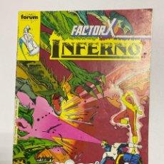 Comics: INFERNO - FACTOR X. Nº 6. COMICS FORUM.. Lote 238579900