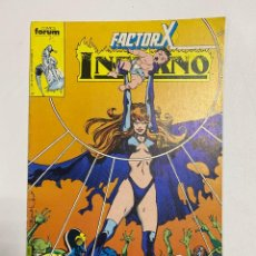 Comics: INFERNO - FACTOR X. Nº 14. COMICS FORUM.. Lote 238580000