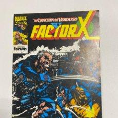 Comics: FACTOR X. Nº 69 - LA CANCIÓN DEL VERDUGO. PARTE 6. MARVEL COMICS. COMICS FORUM.. Lote 238580640