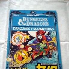 Cómics: COMIC FORUM DRAGONES Y MAZMORRAS, EDICION N. 1, 125 PTAS. Lote 238835360