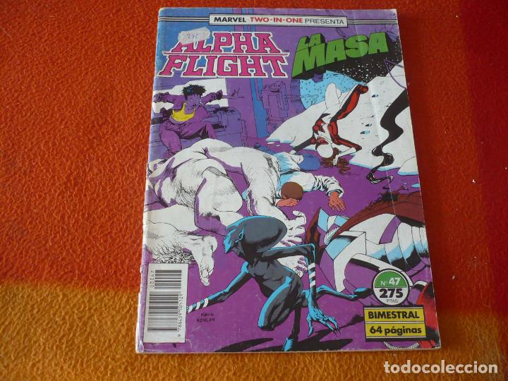 ALPHA FLIGHT VOL. 1 Nº 47 MARVEL TWO IN ONE LA MASA FORUM HULK (Tebeos y Comics - Forum - Alpha Flight)