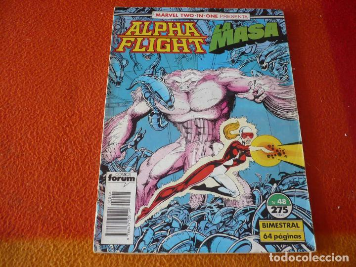 ALPHA FLIGHT VOL. 1 Nº 48 MARVEL TWO IN ONE LA MASA FORUM HULK (Tebeos y Comics - Forum - Alpha Flight)