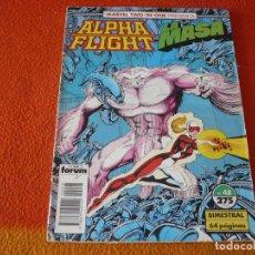 Cómics: ALPHA FLIGHT VOL. 1 Nº 48 MARVEL TWO IN ONE LA MASA FORUM HULK. Lote 238911880