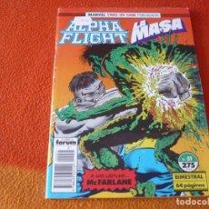 Cómics: ALPHA FLIGHT VOL. 1 Nº 51 MARVEL TWO IN ONE LA MASA FORUM HULK. Lote 238911985