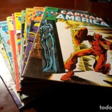 Comics: LOTE DE 17 COMICS CAPITAN AMERICA - FORUM - MBE. Lote 239401485