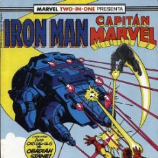 Cómics: MARVEL TWO IN ONE IRON MAN & CAPITÁN MARVEL VOLUMEN 1 NÚMERO 44 (FORUM). Lote 239444260