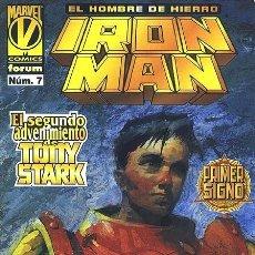 Cómics: IRON MAN VOLUMEN 3 NÚMERO 7 (FORUM). Lote 239446830