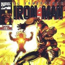 Cómics: IRON MAN VOLUMEN 4 NÚMERO 15 (FORUM). Lote 239447045