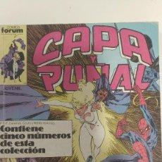 Cómics: CAPA Y PUÑAL 1 A 5 FORUM (RETAPADO). Lote 239552000