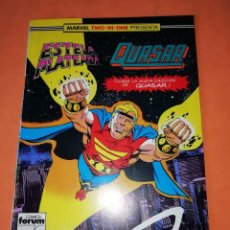 Cómics: ESTELA PLATEADA. QUASAR. MARVEL TWO IN ONE. Nº 21. FORUM.. Lote 239559885