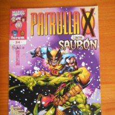 Comics: PATRULLA X VOL. 2 Nº 34 - VOLUMEN 2 - MARVEL - FORUM (FX). Lote 239579530
